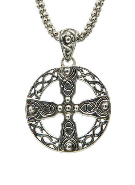 Celtic Cross - Wheel - Sterling Silver