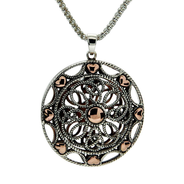 Ashen Rose Pendant