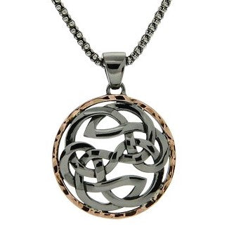 Path of Life - Pendant Ruthenium Rose Gold