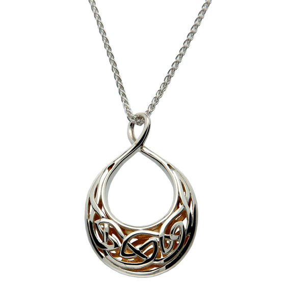 Window to The Soul Pendant Teardrop Small