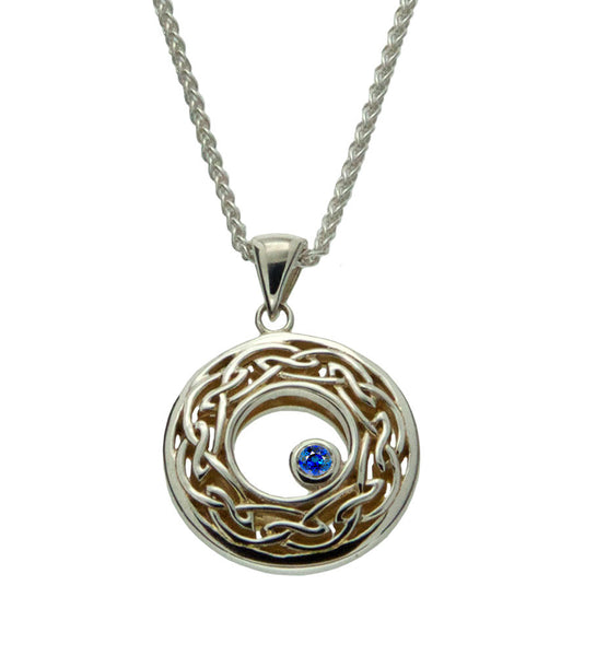 Window to the Soul Pendant Set w/Multicolored Pastel Sapphire