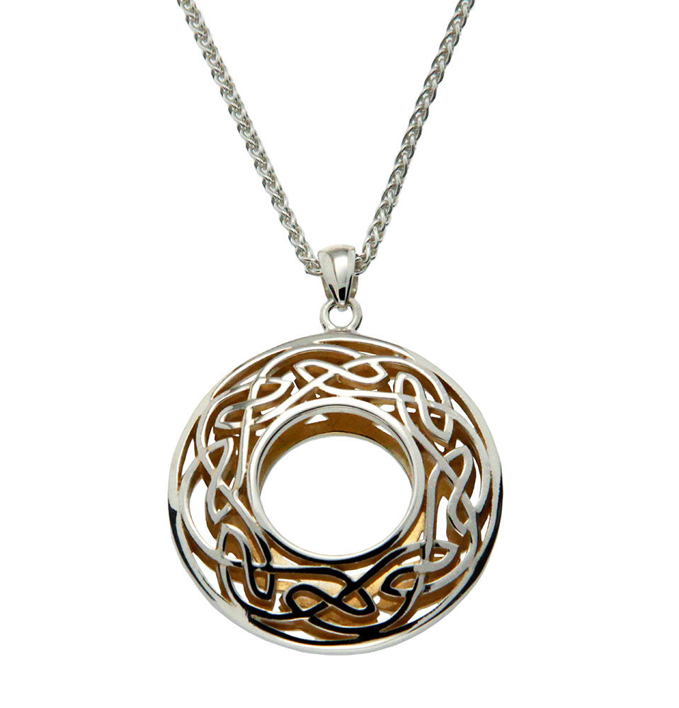 Window to The Soul Pendant Round Small