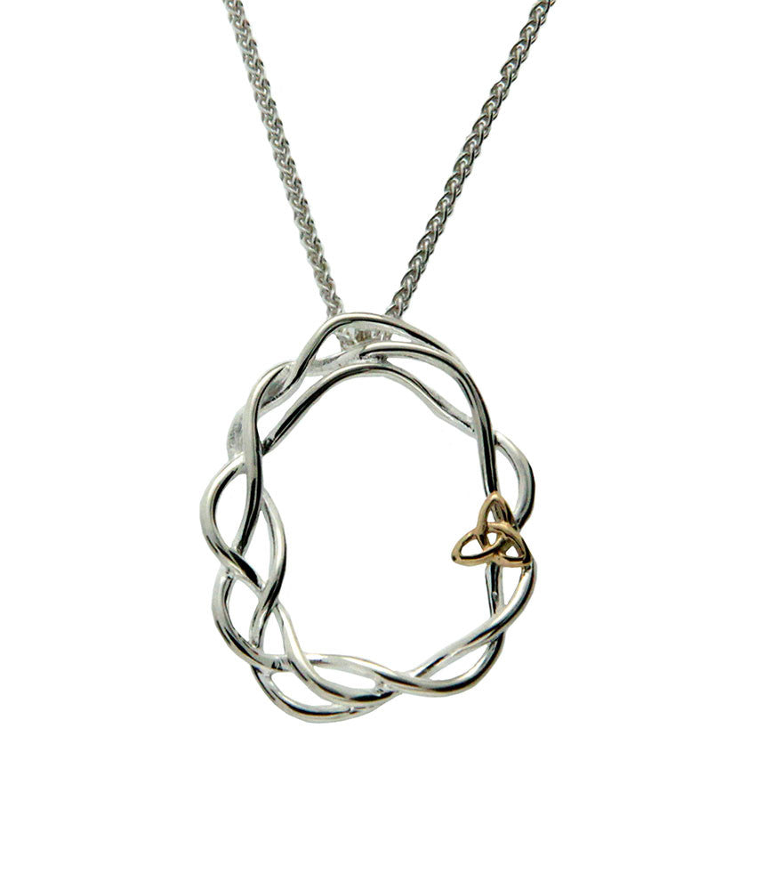 Celtic Cradle of Life Infinity Knot Pendant