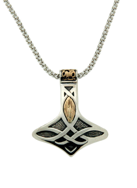 Norse Forge Thor's Hammer Pendant - Small