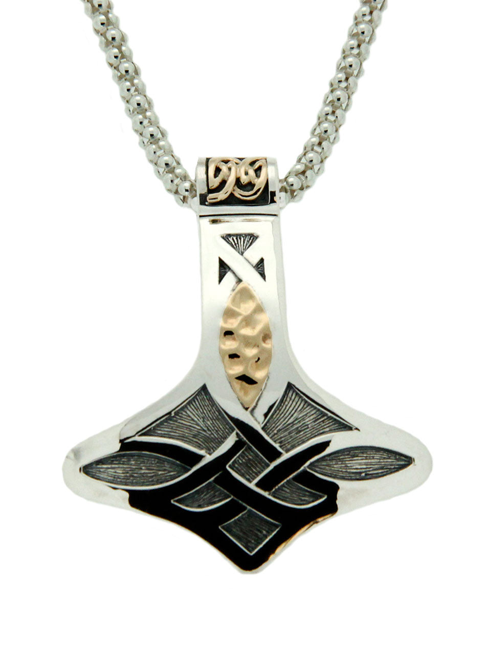 Norse Forge Thor's Hammer Pendant - Large