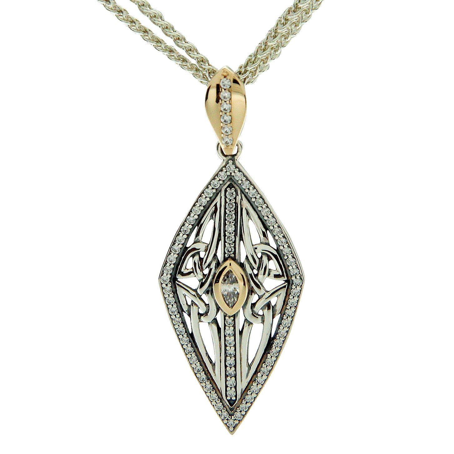 Trinity Shield Gateway Pendant