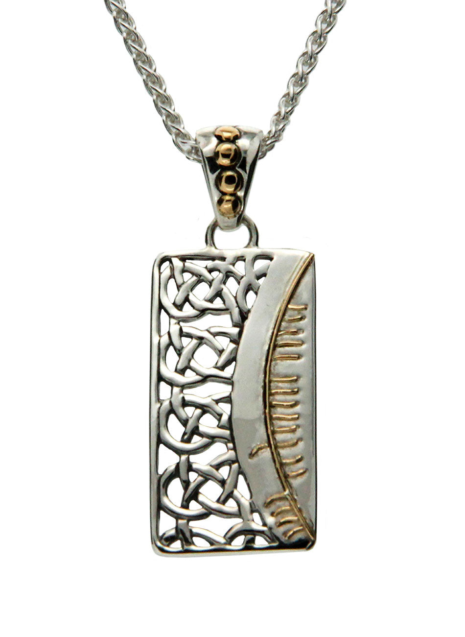 Secret Ogham Pendant - Family (Clann)