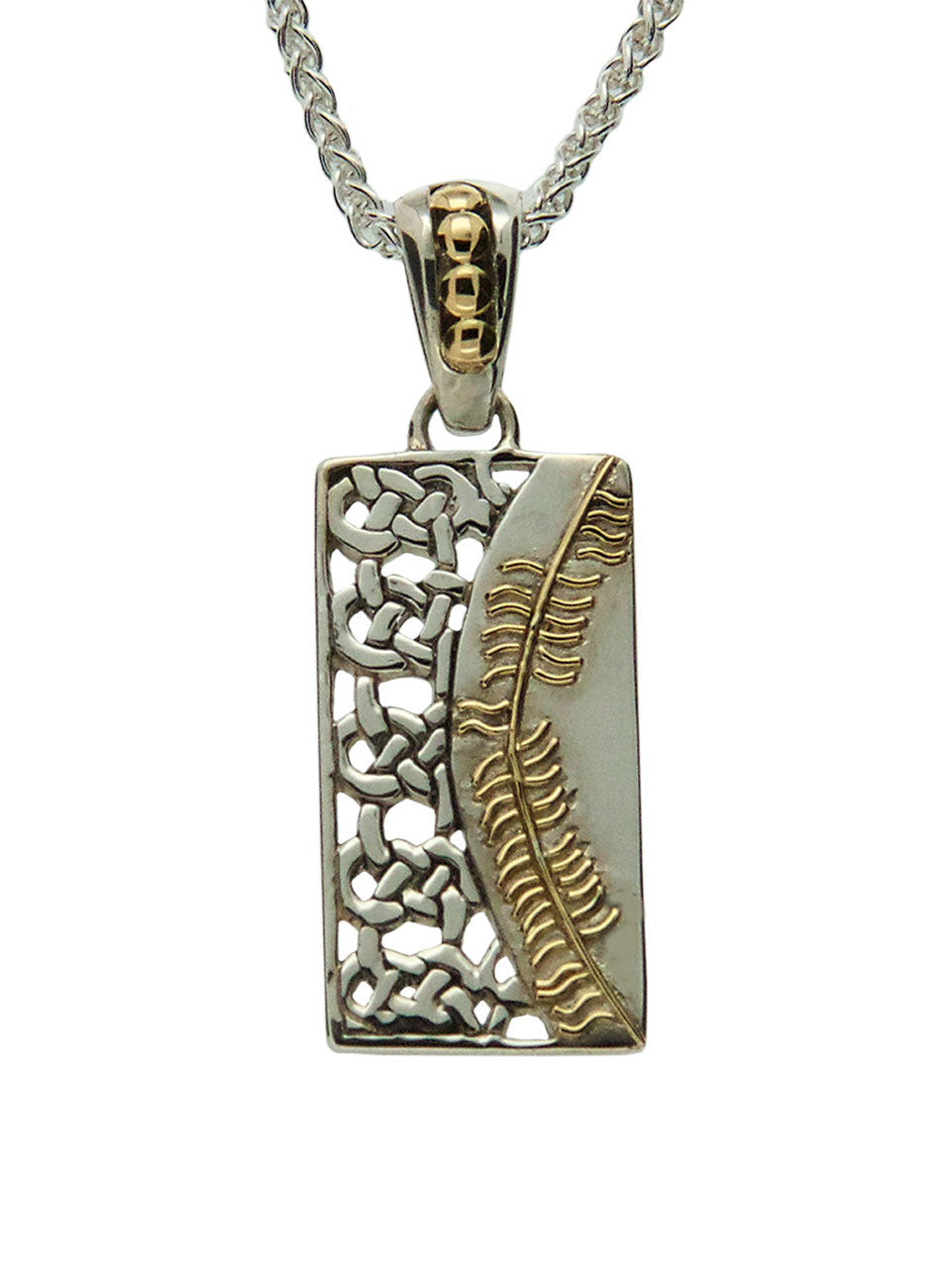 Secret Ogham Pendant - Friendship (Cairdeas)
