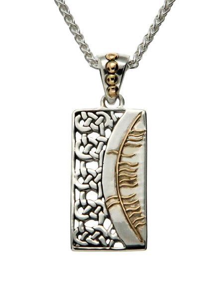 Secret Ogham Pendant - Happiness (Sonas)