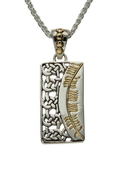 Secret Ogham Pendant - Courage (Misneach)
