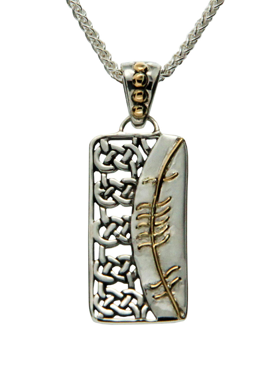 Secret Ogham Pendant - Love (Gra)