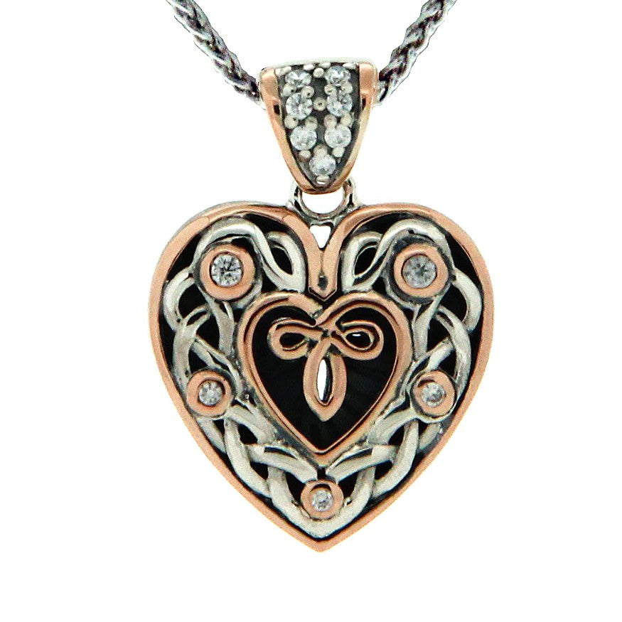 Celtic Heart Pendant Small