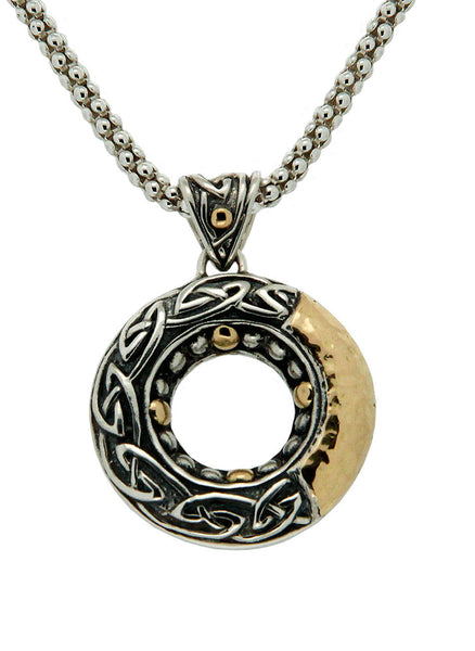 Labyrinth Eternity Pendant