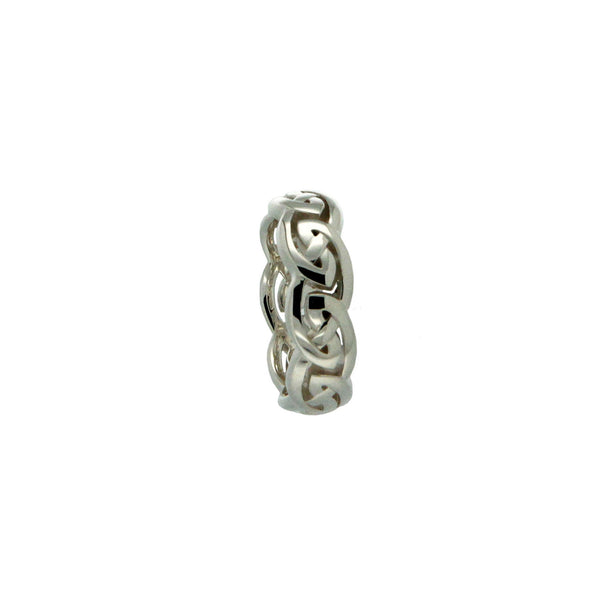 Eternity Knot Ring Sterling Silver