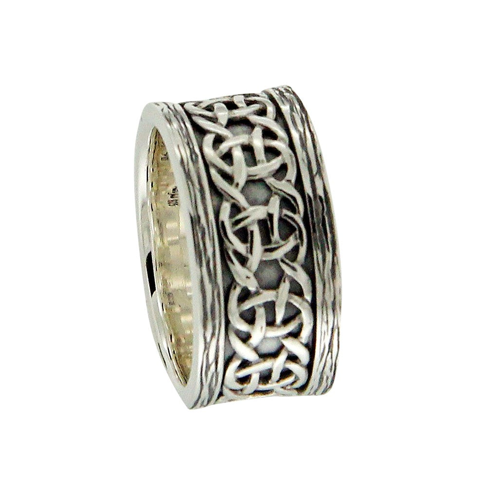 Norse Forge Scavaig Ring Silver