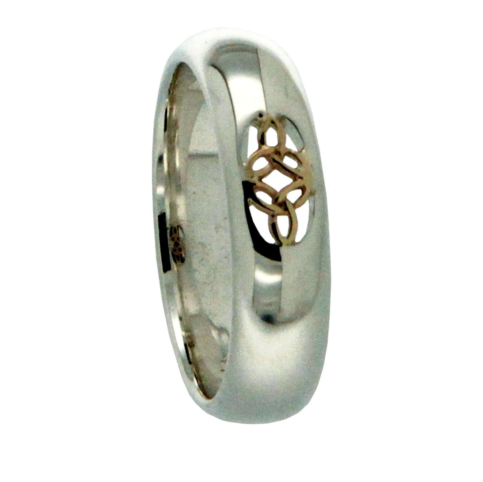 Ussie Ring S/S and 10K Gold
