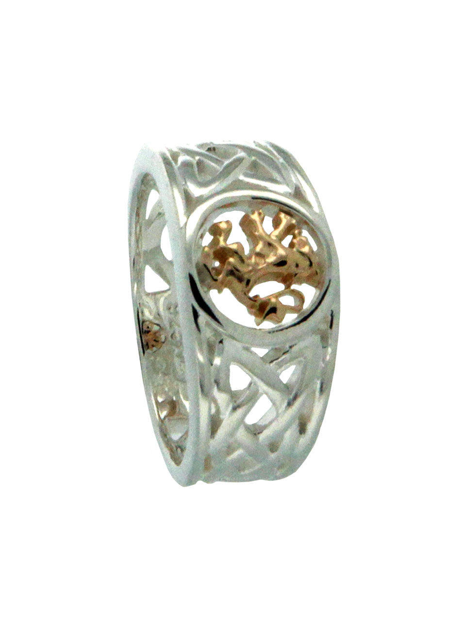 Scottish Lion Rampant Ring