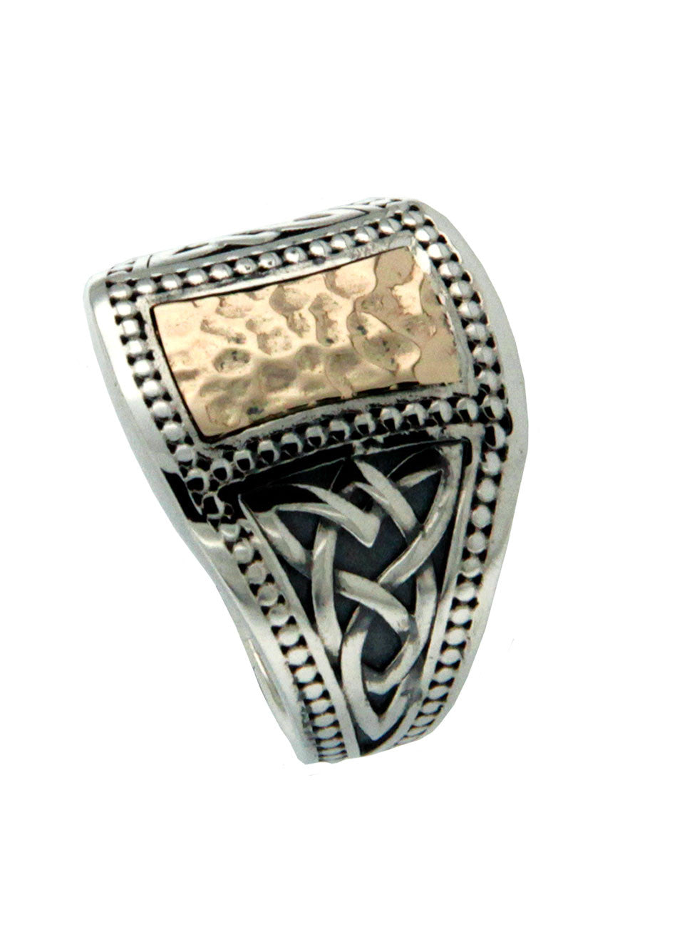 Celtic Signet Ring - Large
