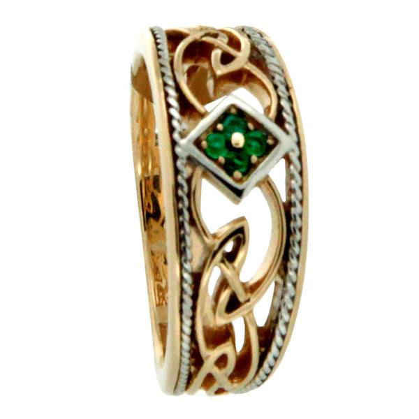 Rosail Emerald Ring