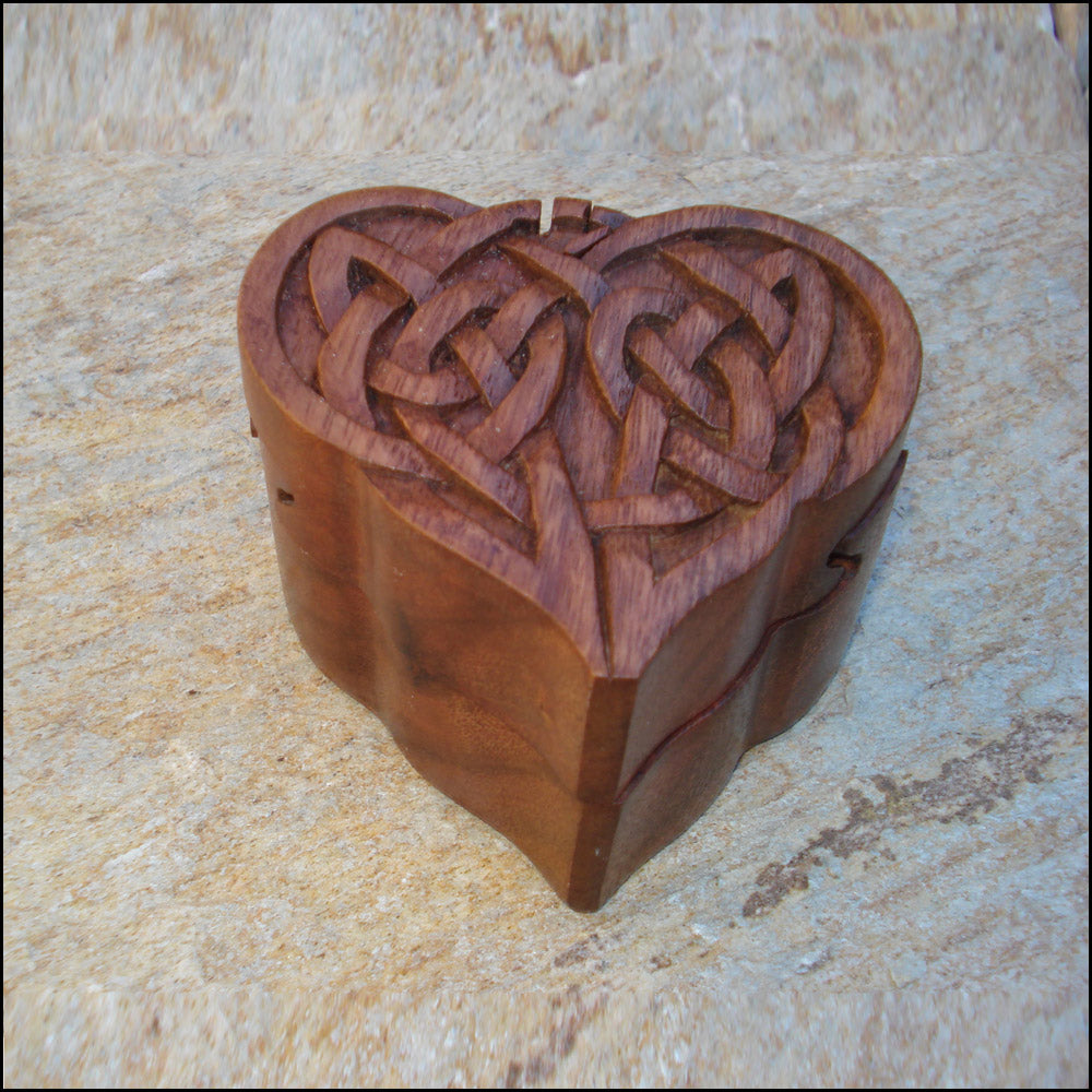 Puzzle Box - Heart by Blue Frog Company