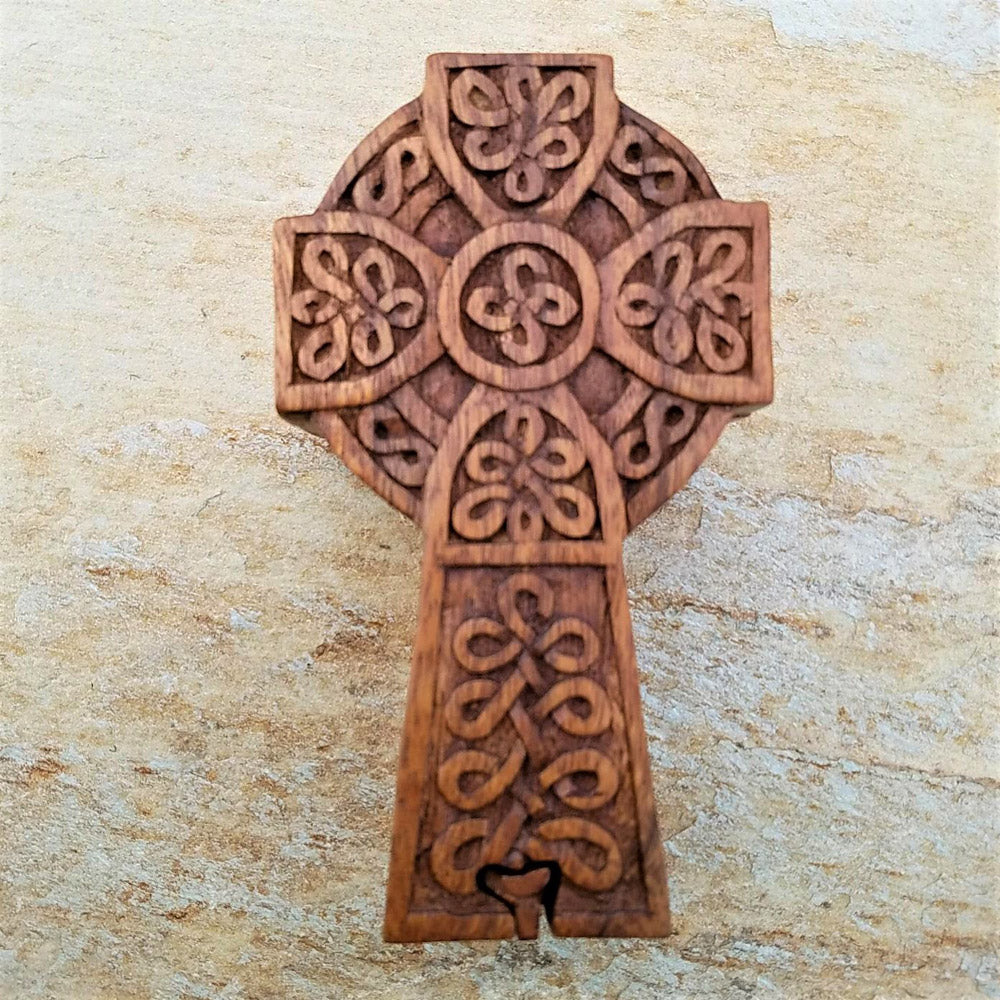 Puzzle Box - Cross by Blue Frog Company