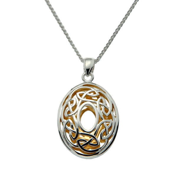 Window to The Soul Pendant Oval