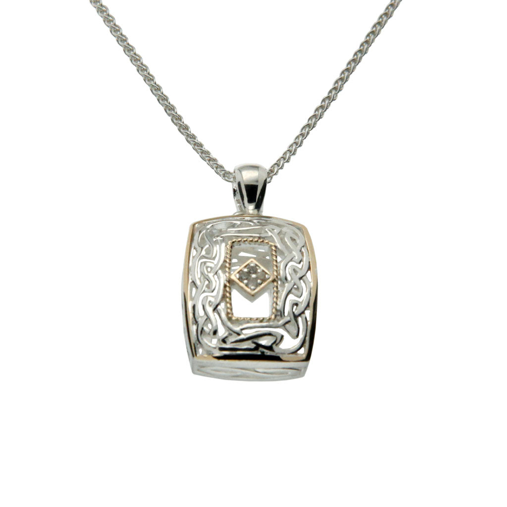 Window to the Soul Pendant with Diamonds