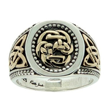 Path of Life Ring S/S and 10K Gold