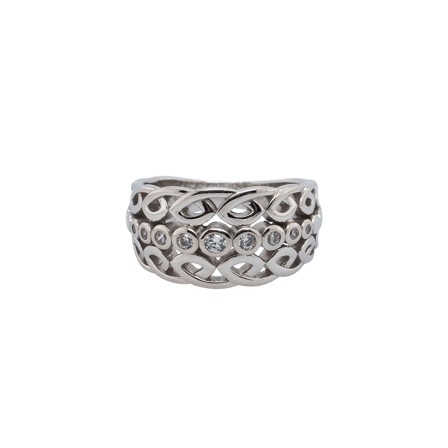 Bridge Ring - Sterling Sliver
