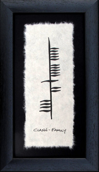 Ogham Wishes - Family, Clann