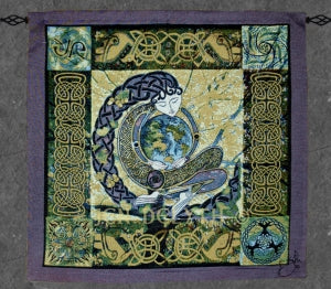 Anu - Earth Mother Fine Art Tapestry