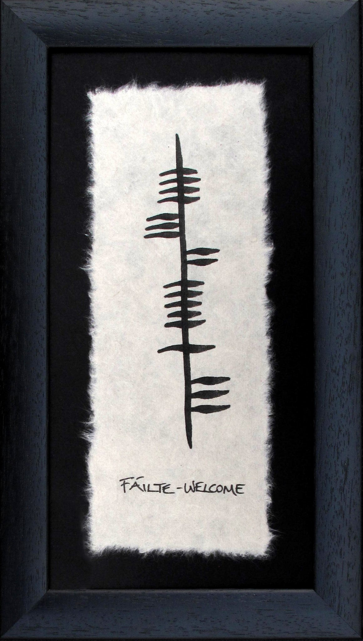 Ogham Wishes - Welcome, Faite