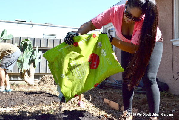 Ecoscraps Loves We Diggit Urban Gardens Program