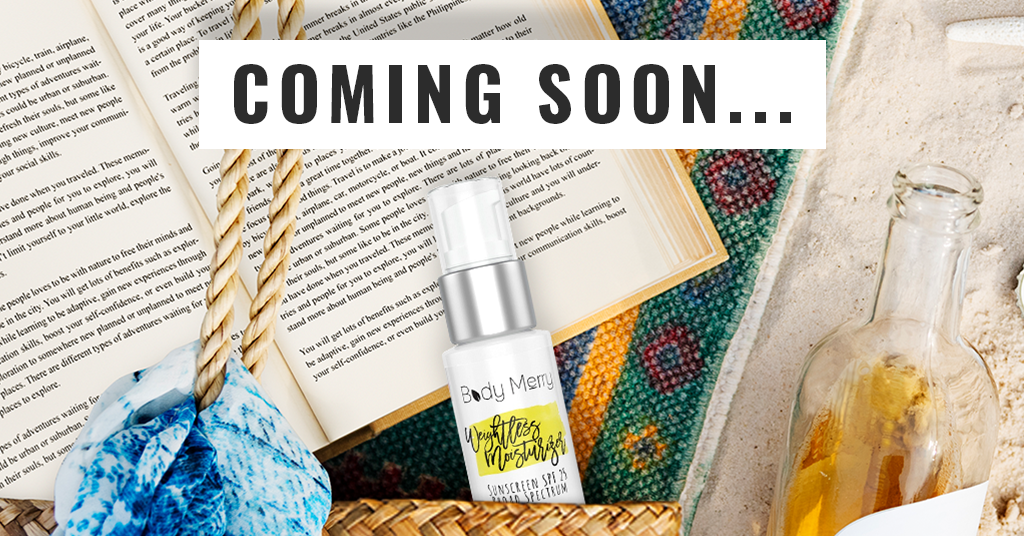 Body Merry Weightless Moisturizer Sunscreen Coming Soon - Sign up to be the first to know when it is available