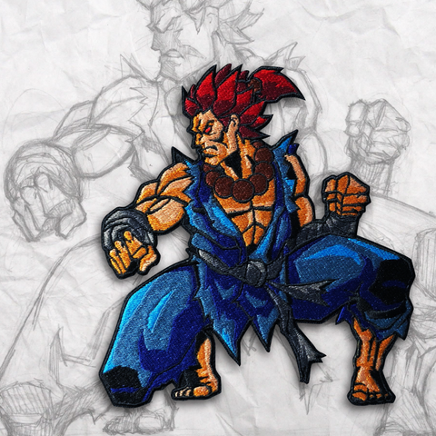 Akuma Embroidery Morale Patches