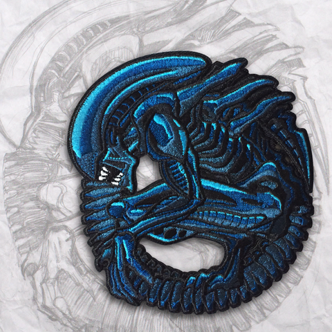 Alien Embroidery Morale Patch
