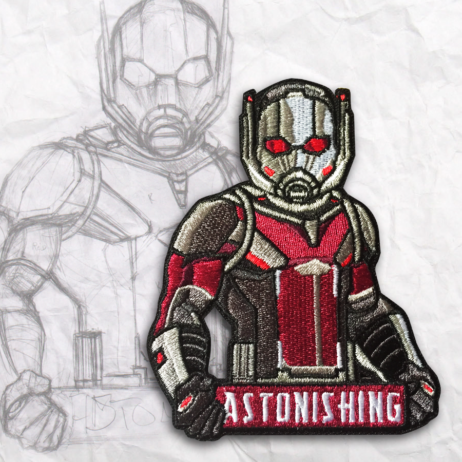Ant-Man Embroidery Morale Patch