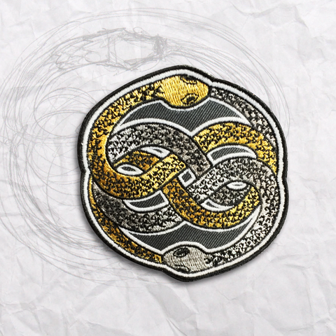 The Auryn Embroidery Patch