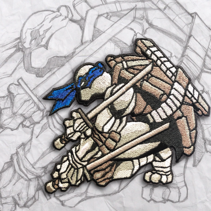 Leonardo Exclusive Embroidery Morale Patch