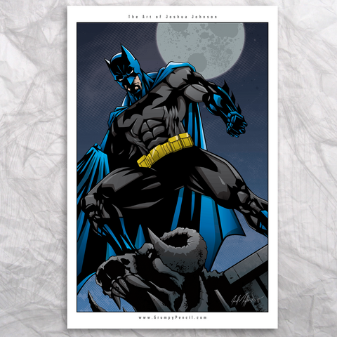 Batman Fine Art Print