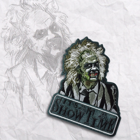 BeetleJuice Embroidery Morale Patch