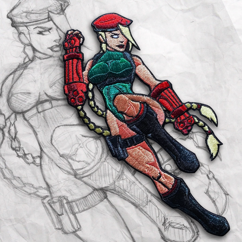Grumpy Cammy Embroidery Patch