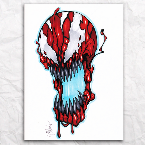 Carnage Original Artwork