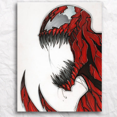 Carnage #2 Original Artwork