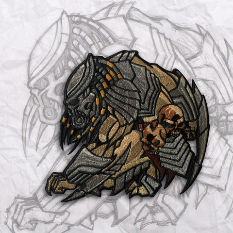 Celtic Predator Embroidery Morale Patch