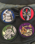 Ninja Turtle Villains Morale Patch Set