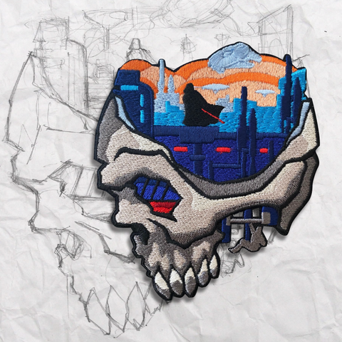 Minds Eye, Cloud City Embroidery Patch