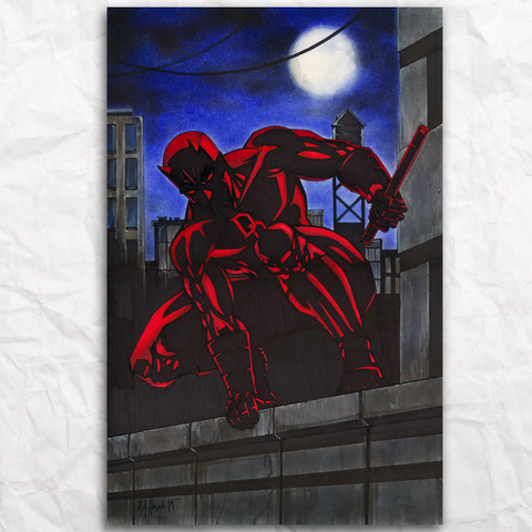 Daredevil Original Artwork