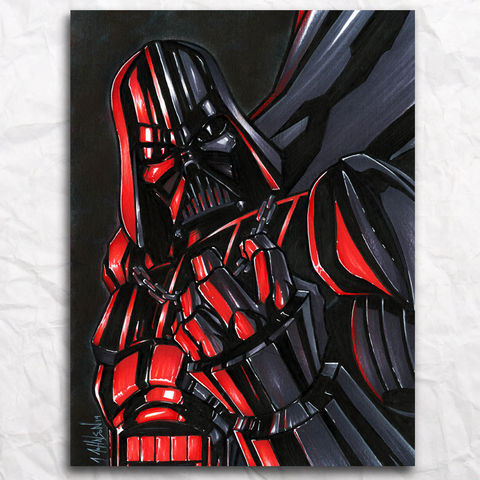 Darth Vader Original Artwork
