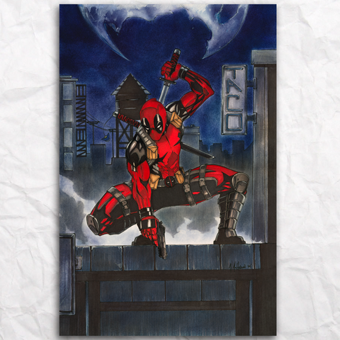 Deadpool Original Artwork
